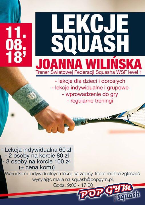 ‼️Przypominamy, że już w najbliższą sobotę będziecie mieli okazję potrenować pod okiem Joanna Wilińska,…