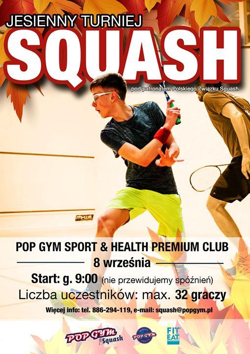 Drodzy gracze squash! Przed nami kolejny Turniej Squash w Radomiu pod patronatem Polski Squash…
