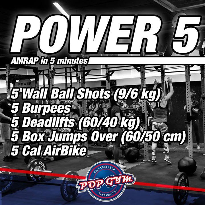 Strefa POWER – Pop Gym Sport & Health Club zaprasza na poniedziałkowe wyzwanie!! Kto…
