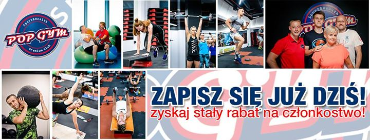 POP GYM Sport & Health Club updated their cover photo
