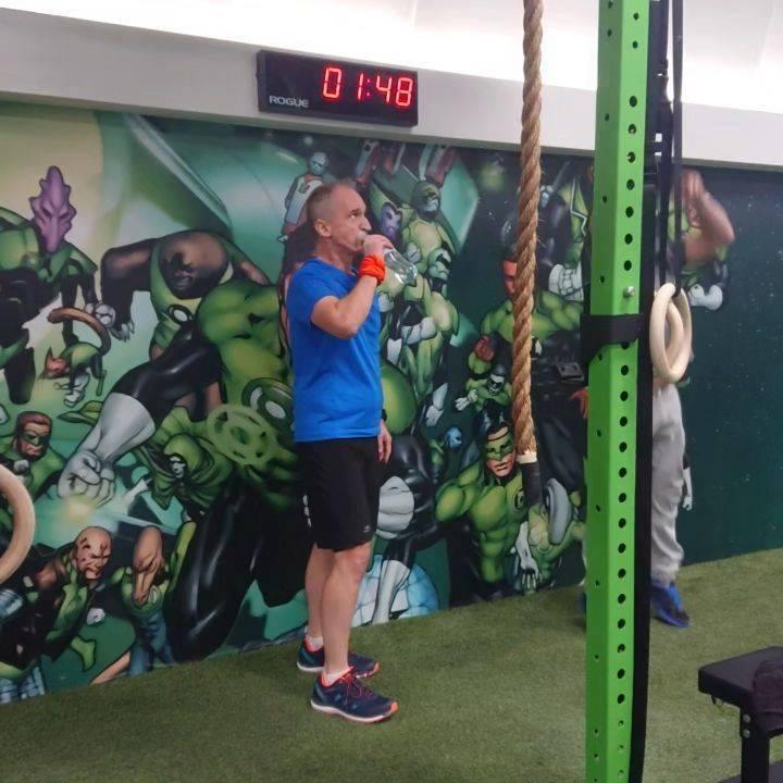 Zespołowy trening na Strefa POWER – Pop Gym Sport & Health Club :D Nie…