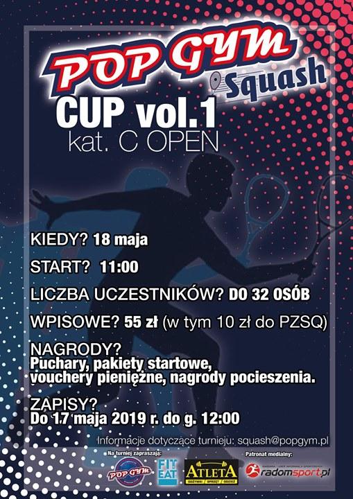 Długo wyczekiwany turniej squasha ponownie w Radomiu! POP GYM Squash Cup to cykl turnejów,…