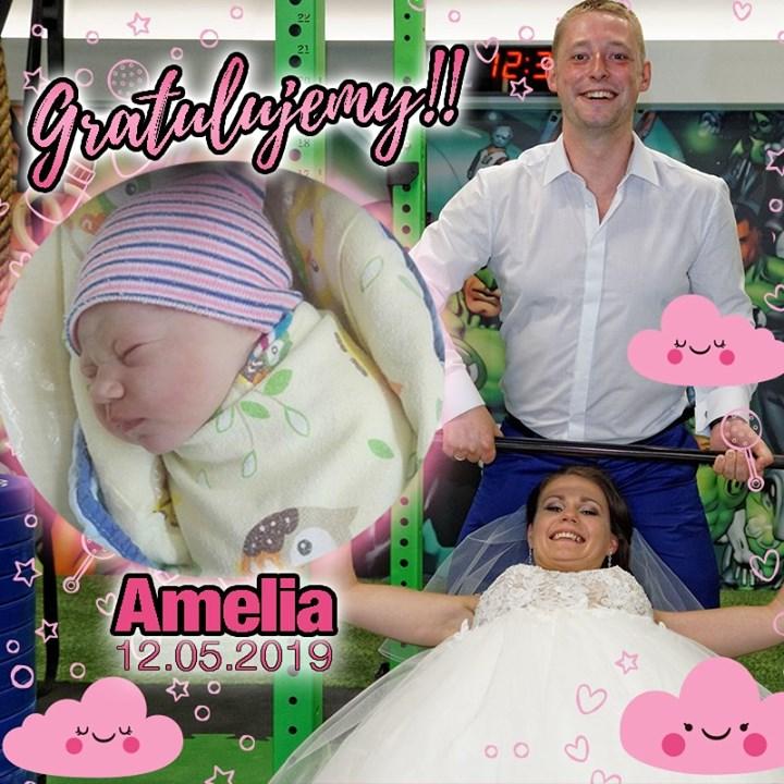 Nasza PopGymowa rodzina niedawno się powiększyła :) 🥰 Drodzy Klubowicze przywitajmy ciepło Amelię! :)…