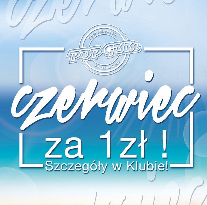 Co powiecie na taką promocję? :)🤔🤩 Czerwiec w POP GYM Sport & Health Club…