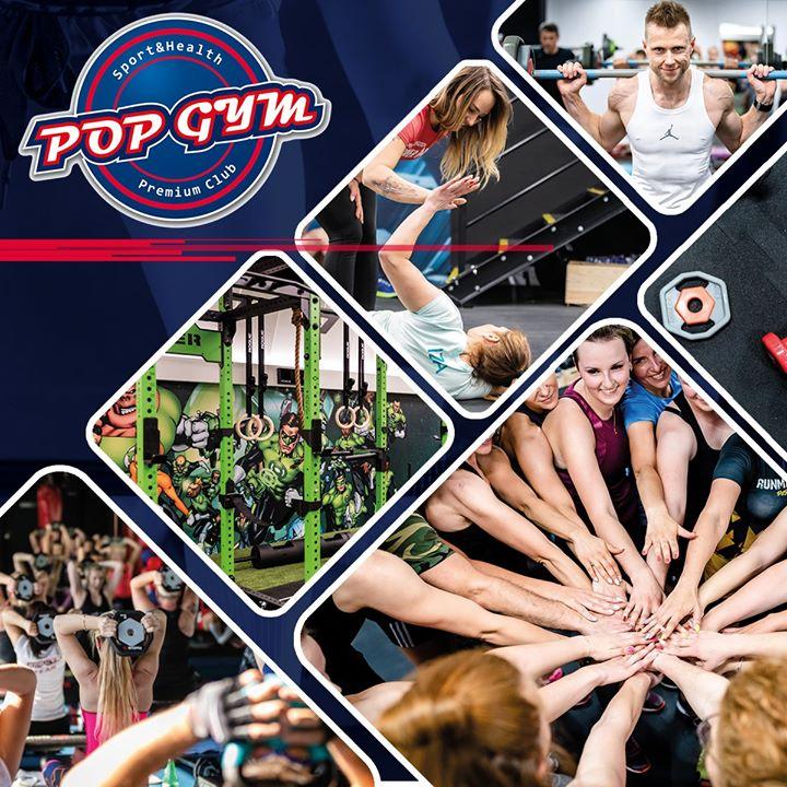 Dołącz do POP GYM Sport & Health Club i korzystaj ze wszystkich możliwości jakie…